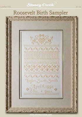 Roosevelt Birth Sampler - Cross Stitch Pattern