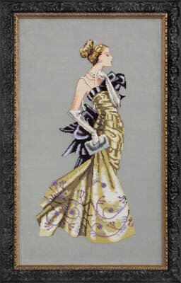 Lady Alexandra - Mirabilia Cross Stitch Pattern