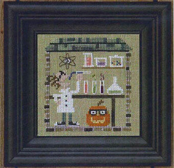 Haunted Guest House - Secret Lair - Cross Stitch Pattern