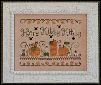 Here Kitty Kitty - Cross Stitch Pattern