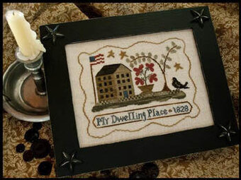 My Dwelling Place - Cross Stitch Pattern