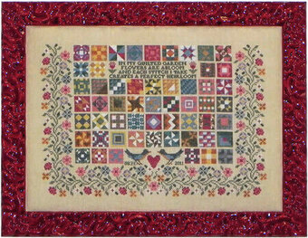 Quilted Garden - Cross Stitch Pattern