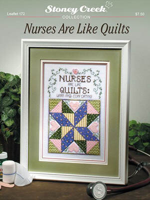 Nurses are like Quilts - Cross Stitch Pattern