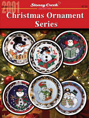 Christmas Ornament Series (2001) - Cross Stitch Pattern