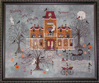 Ravenmoon Hall - Cross Stitch Pattern