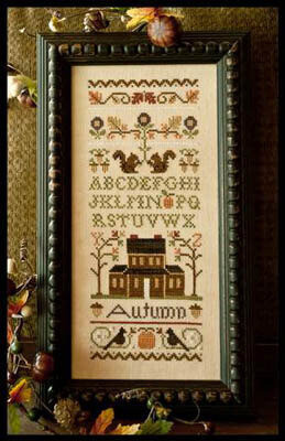 Autumn Band Sampler - Cross Stitch Pattern
