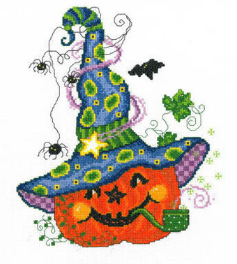 Peter Pumpkin - Cross Stitch Pattern