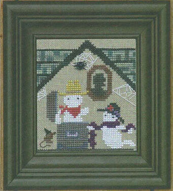Haunted House - Creek and Squeak - Cross Stitch Pattern