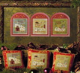 Santa's Flight - Cross Stitch Pattern