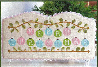 Merry Christmas Ornaments - Cross Stitch Pattern