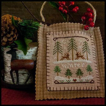 2011 Ornament 11 Winter Forest - Cross Stitch Pattern
