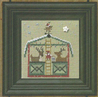 Christmas Stable, The Deer Lodge - Cross Stitch Pattern