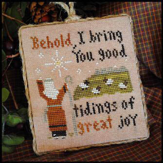 2011 Ornament 12 - Good Tidings - Cross Stitch Pattern