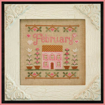 Cottage of the Month February - Cross Stitch Pattern