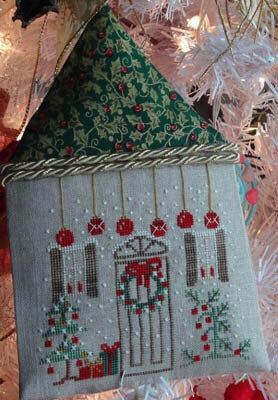 Home For Christmas - Cross Stitch Pattern