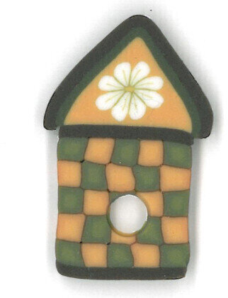 Daisy Birdhouse - Button