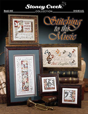 Stitching to the Music - Cross Stitch Pattern