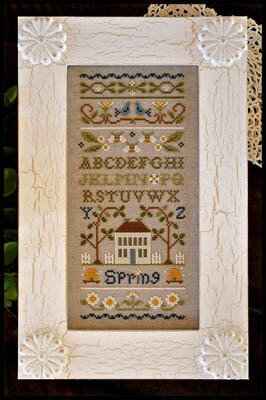 Spring Band Sampler - Cross Stitch Pattern