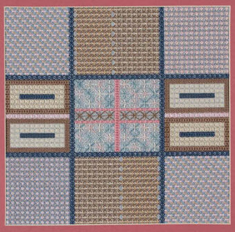 Double Cross Diversion - Needlepoint Pattern