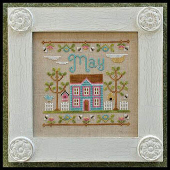 Cottage of the Month May - Cross Stitch Pattern