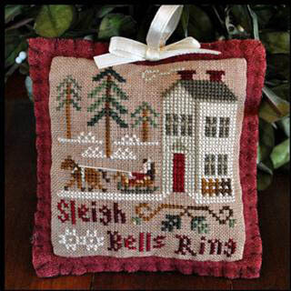 2012 Ornament 4 Sleigh Bells Ring - Cross Stitch Pattern