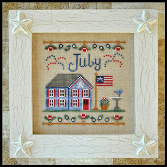 Cottage Of The Month July - Cross Stitch Pattern