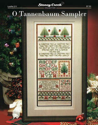 O Tannenbaum Sampler - Cross Stitch Pattern