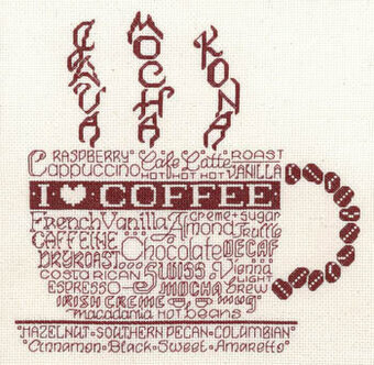 Let's Do Coffee - Cross Stitch Pattern