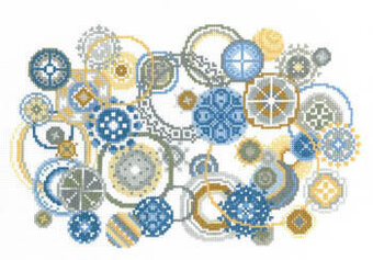 Bubbles - Cross Stitch Pattern