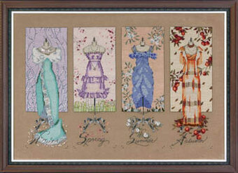 Dressmakers Daughter - Mirabilia Cross Stitch Pattern