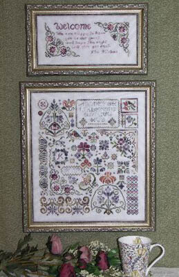 Flowers of Rosehall - Cross Stitch Pattern