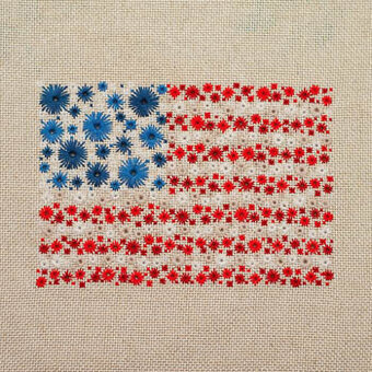 Starburst & Stripes Forever - Cross Stitch Pattern