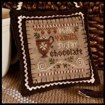 Hot Cocoa (2012 Ornament 7) - Cross Stitch Pattern
