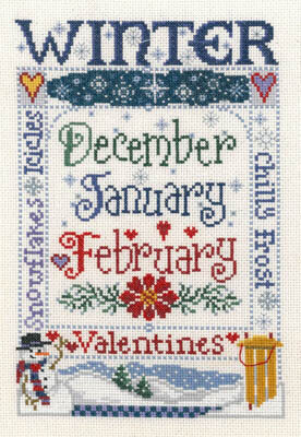 Winter Season - Cross Stitch Pattern