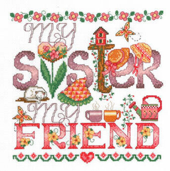 My Sister - Cross Stitch Pattern