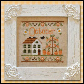 country cottage needleworks cottage of the month october cross rh 123stitch com country cottage cross stitch designs country cottage cross stitch designs