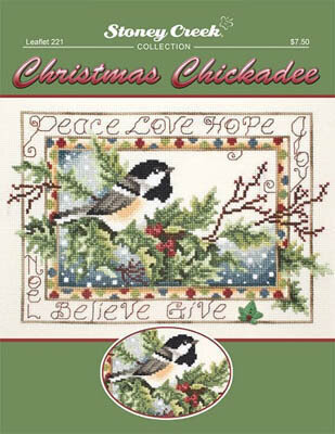 Christmas Chickadee - Cross Stitch Pattern