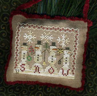 Snowman Parade - Cross Stitch Pattern