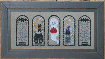 Halloween Arches - Cross Stitch Pattern