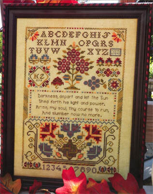 Arise My Soul - Cross Stitch Pattern