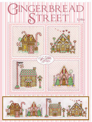 Gingerbread Street - Cross Stitch Pattern