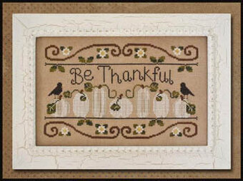 Be Thankful - Cross Stitch Pattern