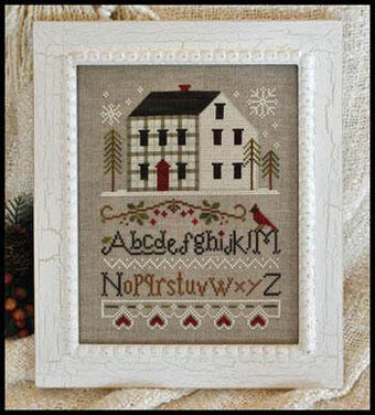 Winter Plaid - Cross Stitch Pattern