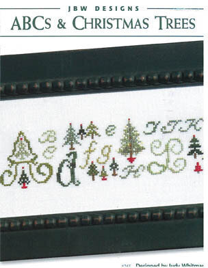 ABC's & Christmas Trees - Cross Stitch Pattern
