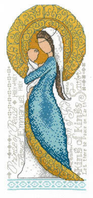 Mother And Child (Mary and Jesus) - Cross Stitch Pattern