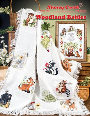 Stoney Creek Woodland Babies Cross Stitch Pattern