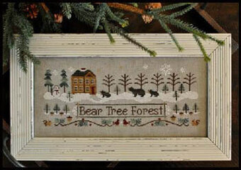 Bear Tree Forest - Cross Stitch Pattern
