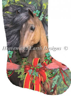 Stocking Merry Morgan - Cross Stitch Pattern