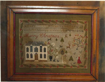 Christmas At Hollyberry Farm - Cross Stitch Pattern