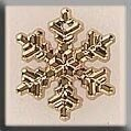 Mill Hill 12038 Medium Snowflake - Gold